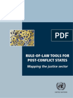 RULE-OF-LAW TOOLS FOR  POST-CONFLICT STATES