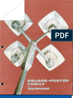 Holophane Square-Postop Series Brochure 1969