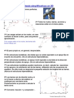 Analisis Estructuras Articuladas Isostaticas