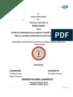 66513152 Saras Dairy Report