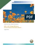 EnergyEfficiencyEvaluationReport2010-11