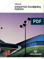 Holophane Vectorflood Brochure 10-75