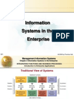 Information Systems in the Enterp