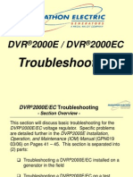 DVR2000E Training--SECT #8 (Troubleshooting)