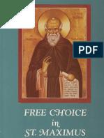 [Joseph P. Farrell] Free Choice in St. Maximus the Confessor