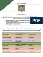 Resume Biswa Nayak 2013