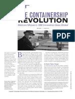 Container Ship Revolution