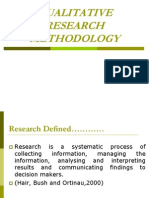1 Qualitative Methods