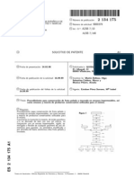 Patente Proceso de Conservacion