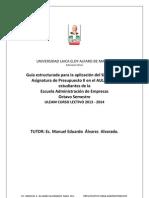 Guia de Trabajo Del Silabo de Presupuesto Publico.