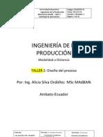 Material de Estudio Diseno Del Proceso Taller 2