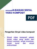 Bagian-bagian Sinyal Video Komposit