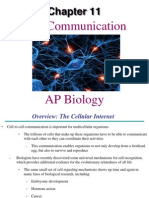 AP Bio Ch. 11 Cell Communication