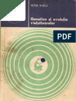 086 Petre Raicu - Genetica şi evoluţia vieţuitoarelor [1979]