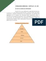 los sistemas de información capitulos I, II, III