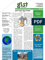 Gist Weekly Issue 18 - April Fools' Day Pranks