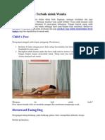 10 Gerakan Yoga Terbaik Untuk Wanita