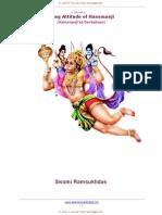 Hanumanji's  Serving Attitude