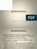 16 ANTIBIOTERAPIA