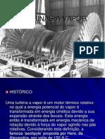 TURBINAS A VAPOR - apresentação
