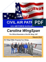 North Carolina Wing - Mar 2013
