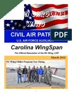North Carolina Wing - Mar 2013