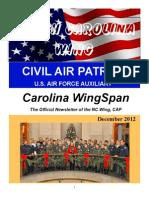 North Carolina Wing - Dec 2012