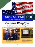North Carolina Wing - Feb 2013