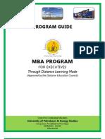 E-MBA Student Program Guide