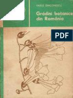 245 Vasile Diaconescu - Grădini botanice din România [1985]