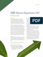 SEBI Takeover Regulation 2011