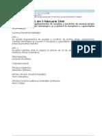 HG 51/1996 - Regulament Receptie Lucrari Montaj Echipamente si Instalatii Tehnologice incl. PIF capacitate