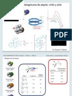 TEMA 9. Halogenuros de Alquilo, Vinilo y Arilo (G. Silbestri)