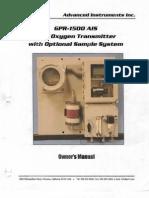 Manual Analizador de Oxigeno