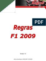 Regras FRC F12009