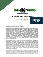 Anonimo - La Nube Del No Saber