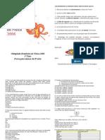 OBF2006 1Fase 8serie Prova