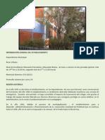 INFORMACIÓN GENERAL DEL ESTABLECIMIENTO