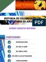 economia de colombia en los ultimos 50 años