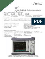 Site Master S3xxE Technical Data Sheet