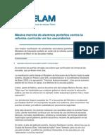 Articulos Periodisticos Reforma Curricular