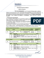 Edital 002 - Processo Seletivo - Tamandare