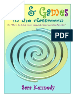 Fun & Games in the Classroom Booklet 2011