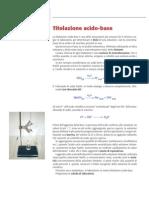 Esperimento Titolazione Acido-Base