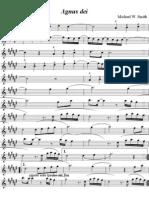 125058107 Agunus Dei Sax Alto PDF