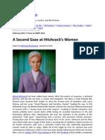 Vertigo 2010_11-Lesson 4 Feminist Theory- A Second Gaze at Hitchcock's Women READING