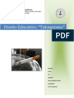 DISEÑO EDUCATIVO - TABAQUISMO