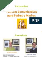 Presentación CURSO TECN COMUNICATIVAS