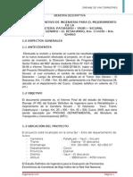 Informe Hidrologico y Drenaje