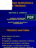 Cancer Tiroideo Dr. Lopez